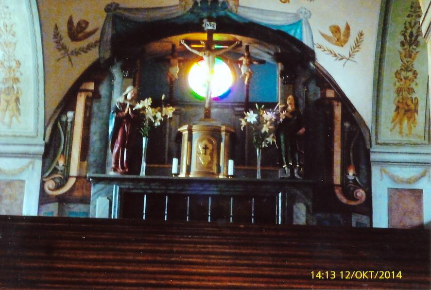 Altar an der Stiege