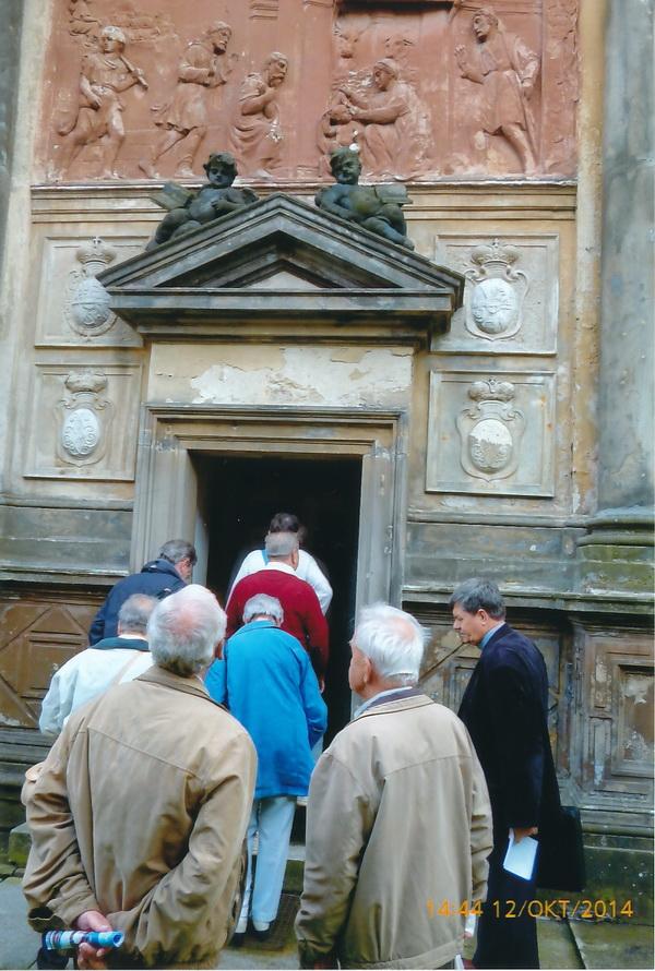 Abschluss in der Loreto- Kapelle