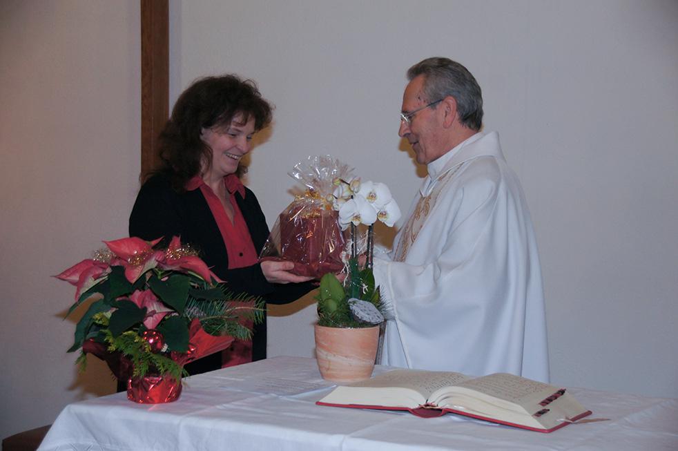 Goldenes Priesterjubiläum Pfarrer Wanzek