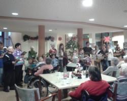 Weihnachtssingen im Altenheim Sebnitz
