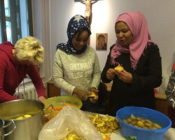Flüchtlinge zu Gast in Sebnitz