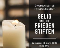 Friedensgebet Sebnitz